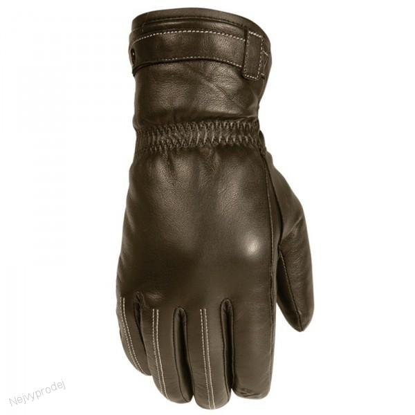 Dámské moto rukavice V-QUATTRO FENICE hnědé empty cc69cd09b8