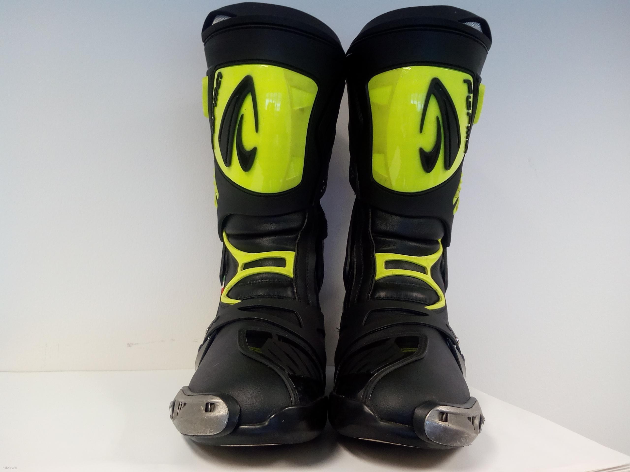 6711731579d Moto boty FORMA ICE PRO černo žluté fluo bazarové