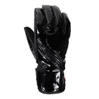 Dámské moto rukavice V-QUATTRO GIANNI černá shinny empty ac9a791cb2