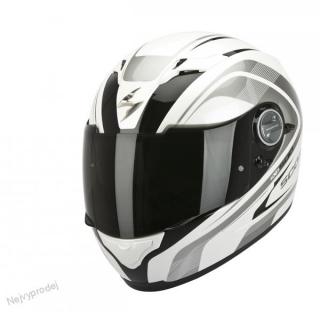 Moto přilba SCORPION EXO-500 AIR FOCUS pearl bílo černá empty 9368b4a7c9