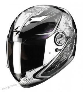 Moto přilba SCORPION EXO-500 AIR RUN černá chameleon empty b761a8db04