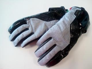 Dámské moto rukavice V-QUATTRO GIANNI černá grey empty 60fcc4f1ec