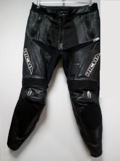 Kalhoty RICHA VIPER kůže černé bazarové empty 0aa64085d8