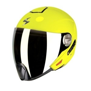 Moto přilba SCORPION EXO-300 AIR neon yellow